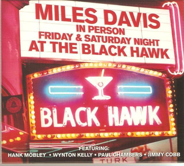 MILES DAVIS IN PERSON FRIDAY & SATURDAY NIGHT AT THE BLACK HAWK - 2 CD BOX SET