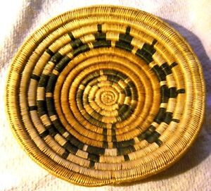 Antique Native American Old Indian Hand Made Woven Basket