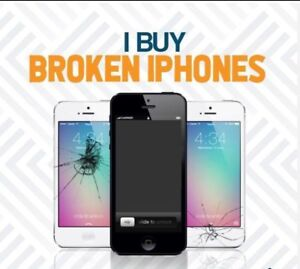 Quick Cash$$ for your Broken iPhones