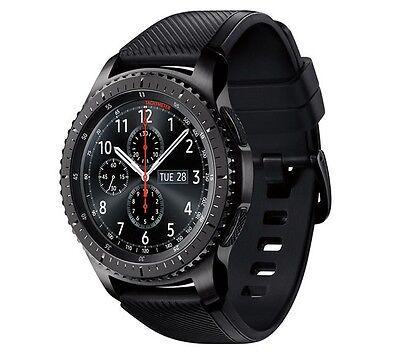 Samsung Gear S3 Frontier Smartwatch SM-R760 Bluetooth Ver. [Dark Gray] Used