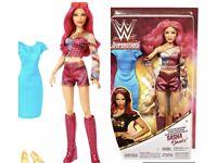 WWE~SASHA BANKS SUPERSTAR DIVA TOP /& SLEEVE ACCESSORY FIT MODEL MUSE BARBIE DOLL