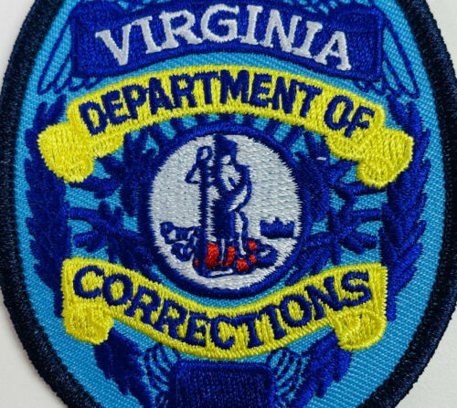 DOC Department Of Corrections Virginia VA Patch (A1)