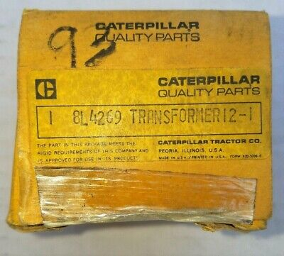 Factroy Oem Caterpillar Part 8l 4269 Transformer New Old Stock
