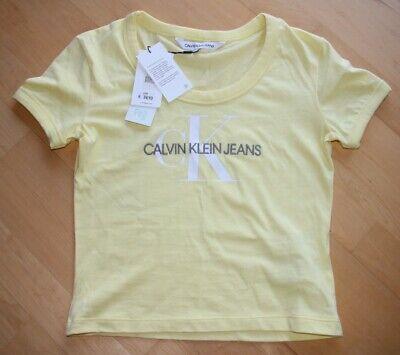 Calvin Klein T-shirt Damen xs, hellgelb, neu, aus dieser Saison, leider Fehlkauf online kaufen