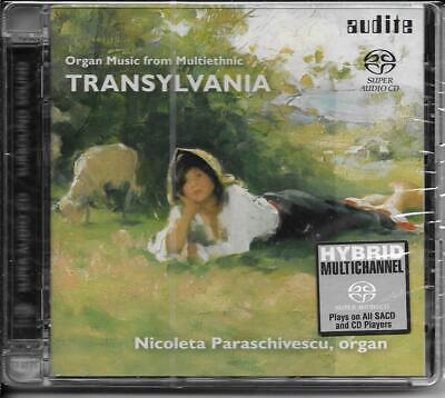 SACD Nicoleta Paraschivescu `Orgelmusik aus dem multiethnischen Transsylvanien`