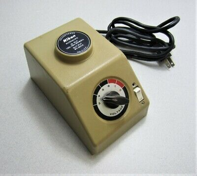 Nikon 6v Microscope Transformer Power Supply