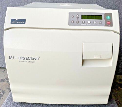 NEW Midmark M11 Ultraclave M11-020 Sterilizer Instrument Autoclave W/ 4 Trays