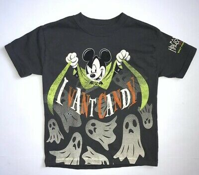 Walt Disney World HAPPY HALLOWEEN 2018 MICKEY'S NOT SO SCARY Child Shirt  XS - Not So Scary Halloween Disney World