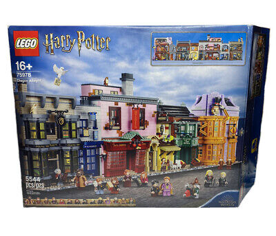 BOX ONLY!! LEGO Harry Potter Diagon Alley 75978 Empty Set Box Only No Minifigs