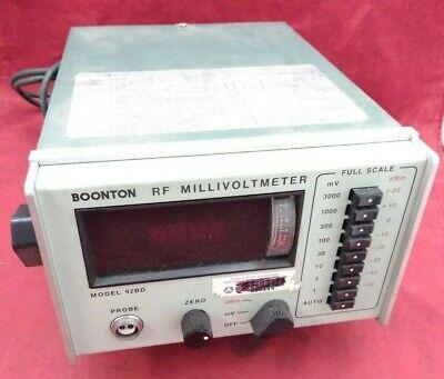 Boonton Rf Millivoltmeter 92bd Machine Only