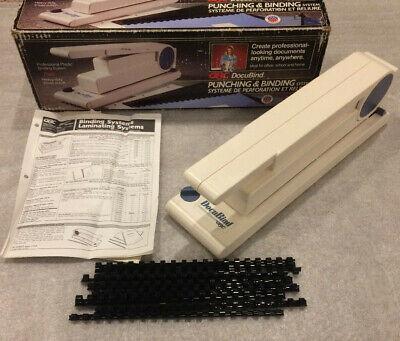 Gbc Docubind Punching Binding System - Comb Binderheavy Duty 3 Hole Punch