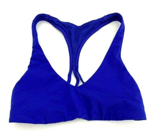 Lululemon Womens 4 Sports Bra Purple Racerback Athletic Wear