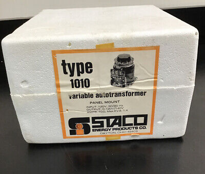 Staco Variable Transformer Type 1010