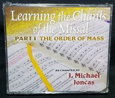 Learning the Chants of the Missal Part 1 The Order of Mass 4-Disc CD J M (Part Learning Cd)