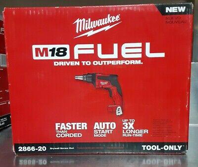 Milwaukee 2866-20 M18 Fuel Brushless Drywall Screw Gun Tool Only
