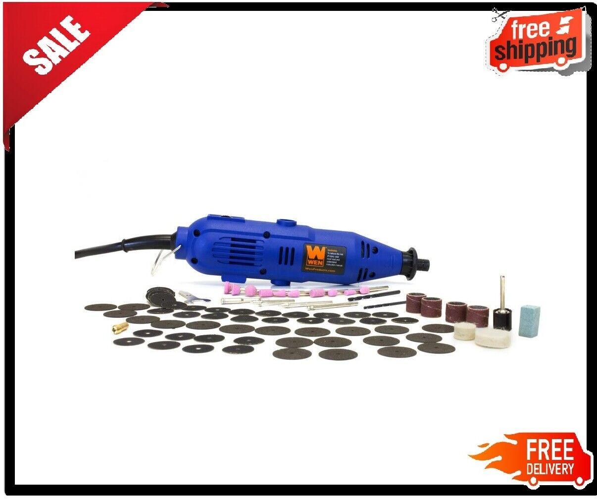 100-Piece WEN Variable Speed Rotary Tool Kit Dremel Rotary G