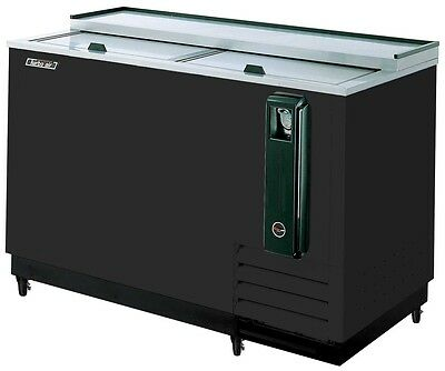 Turbo Air 50 Black Beer Bottle Bar Cooler Tbc-50sb