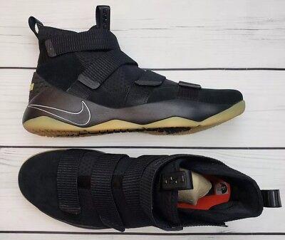 660ec1cf59b1 ... shopping nike lebron james soldier xi 897644 007 black gum basketball  shoes mens sz 12 e6bb1