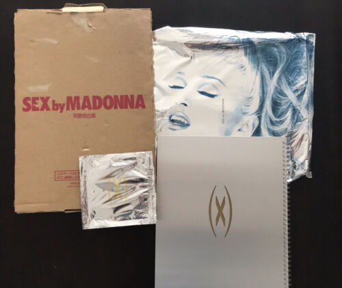 SEX by MADONNA Art Phot Book 1992 Pre-owned Book CD & Box Excellent Cond