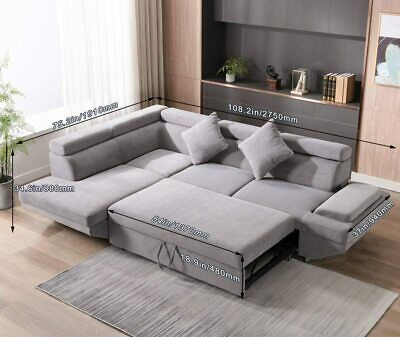 Sectional Sofa Sleeper Sofa Bed Futon Sofa Bed Sofas for Living Room Furniture