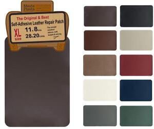 MastaPlasta Leather Repair Patch First Aid For Sofas Car Seats Handbags Jacke