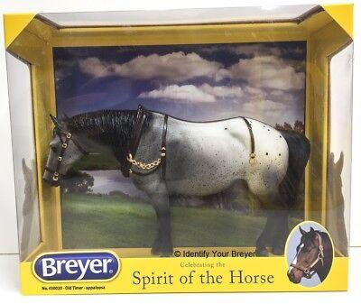 Breyer  430020 Old Timer   Grey Appaloosa   2014 Online Exclusive Model   Nib