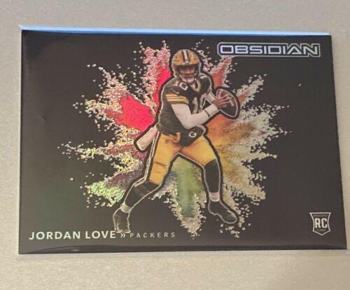 2020 Panini Obsidian Jordan Love Rookie Color Blast - SSP Case Hit - Packers