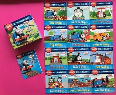 Thomas Train Get Rolling Phonics Lot 12 Children's Books NEW