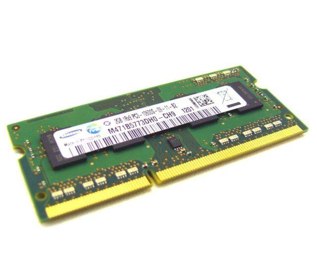 2GB DDR3 RAM für Intel Board BOX DN2800MT (N2800) 1333Mhz Samsung Speicher