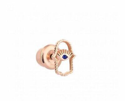 Kismet By Milka Hamsa Sapphire Earring