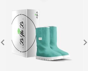 WOMEN'S FLAP MID-BOOT (Green Teal)
