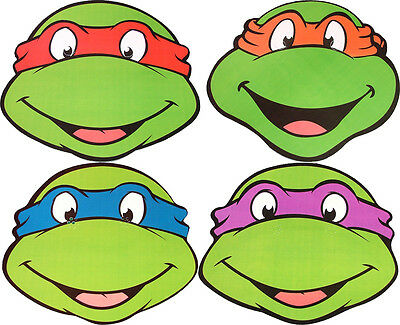 - Teenage Mutant Ninja Turtles Masken