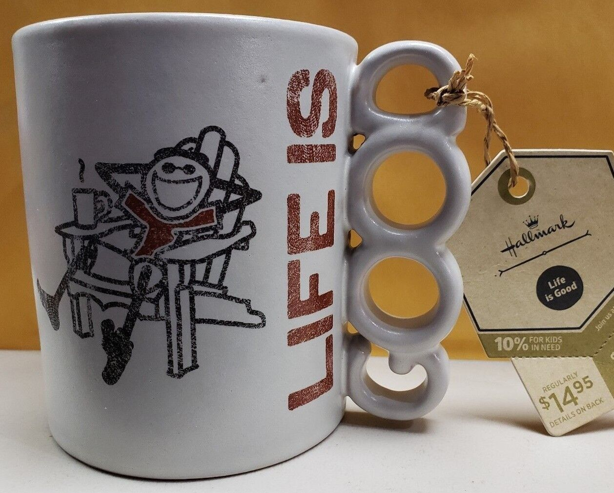 Life Is Good Mug, Hallmark, New - $7.25