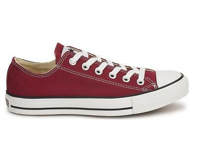 Mens CONVERSE ALL STAR OX Maroon Trainers M9691C