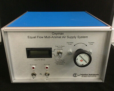 Columbus Instruments Oxymax Equal Flow Multi-animal Air Supply System