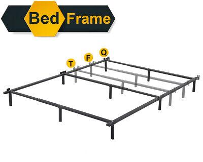Platform Bed Frame Queen Mattress Foundation Metal Base Heavy Duty