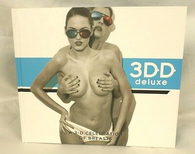 3DD Deluxe by Henry Hargreaves Hardcover Book Boobs W/ 3-D Glasses 763B - 3 Boobs
