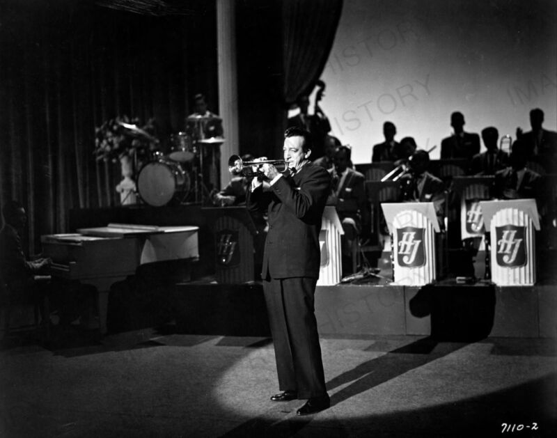 8x10 Print Harry James Big Band Leader Trumpeter 1945 #2866