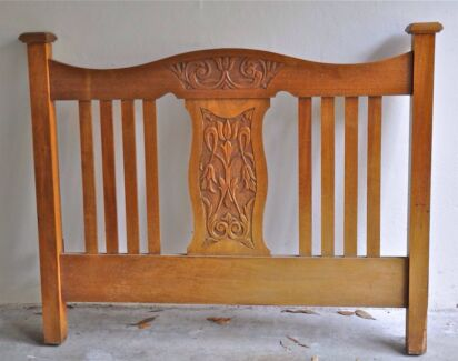 Edwardian Oak Bed Northbridge Willoughby Area Preview
