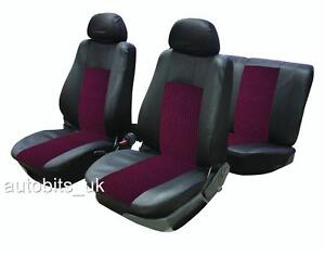 Sporty to fit peugeot 106 205 206 207 307 407 car seat for Housse siege peugeot 307