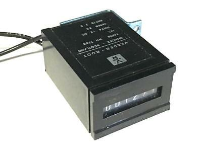 VEEDER-ROOT WH 7286 COUNTER MODULE 12 VDC 2.5 WATTS 58 OHMS