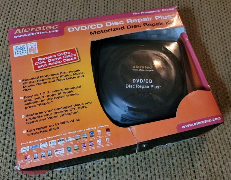 Aleratec DVD CD Disc Repair Plus New