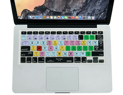 XSKN for Final Cut Pro X 10 Hotkeys Keyboard Cover for old MacBook Air Pro 13