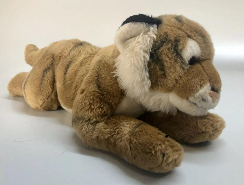 "Animal Alley Toys R Us Vintage Bengal Tiger Plush 18"" Stuffed Animal 2000"