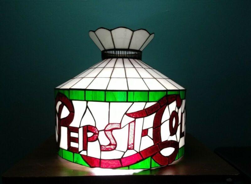 Vintage PEPSI-COLA Hanging Lamp Shade [Large]