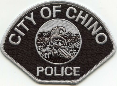 CHINO CALIFORNIA CA subdued POLICE PATCH