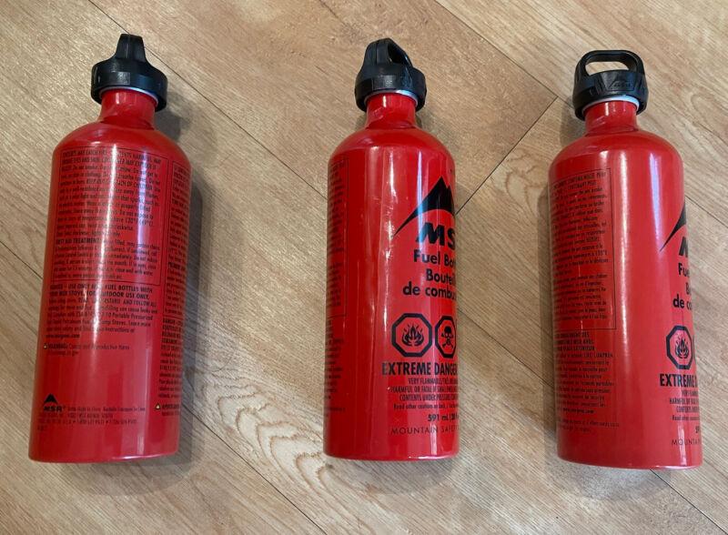 MSR Fuel Bottles Set Of 3