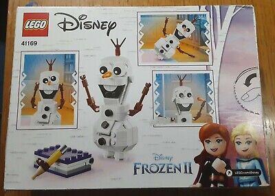 LEGO Disney Frozen 2 Olaf 41169 122 pcs NIB