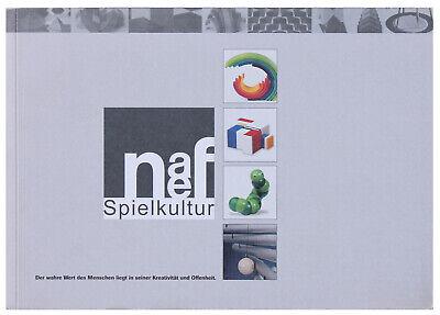 Vintage ORIGINAL Naef Swiss Spielkultur Book, Beautiful Mid Century Modern Rare