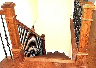 NEWEL POST (RECESSED PANEL) RED OAK; 10% OFF FOR LARGE ORDERS Red Oak Panel